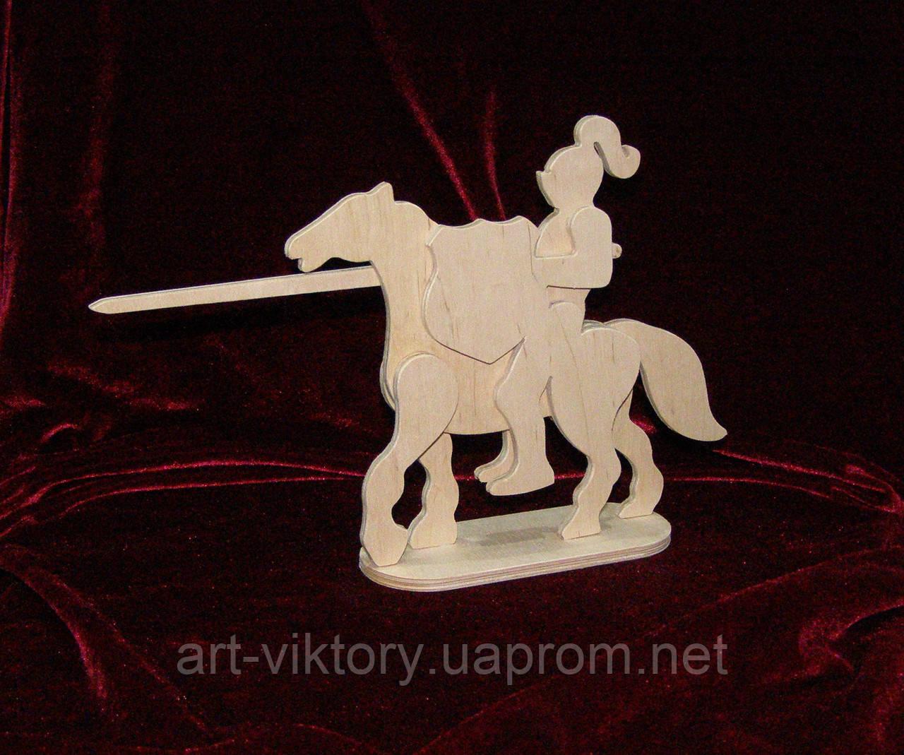 Рыцарь на коне, декор (18 х 16 см)