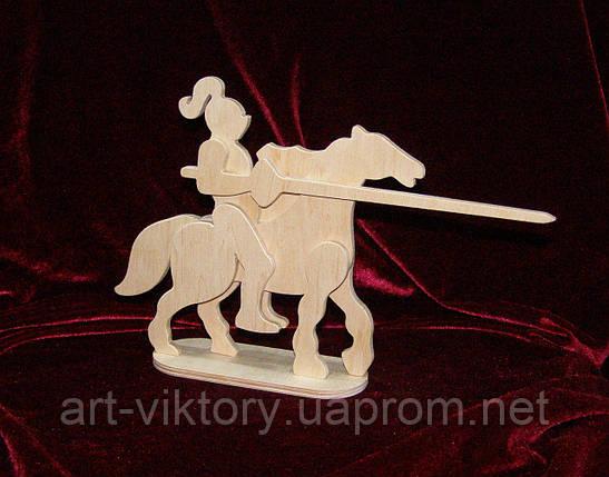 Лицар на коні, декор (18 х 16 см), фото 2