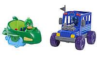 Just Play PJ Masks Герои в масках Гекко и Ночной Ниндзя на машинах Gekko-Mobile Night Ninja's Sub