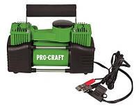 Компрессор автомобильный ProCraft LK-400 (2 поршня, 10 Атм.). Автомобильный компрессор