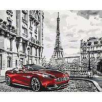 Рисование по номерам КНО3514 Парижское утро 40*50см
