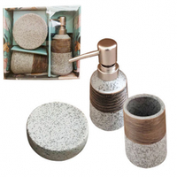 Набор аксессуаров для ванной комнаты Aqua 3пр