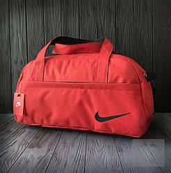 Спортивная сумка Nike красного цвета (люкс копия)