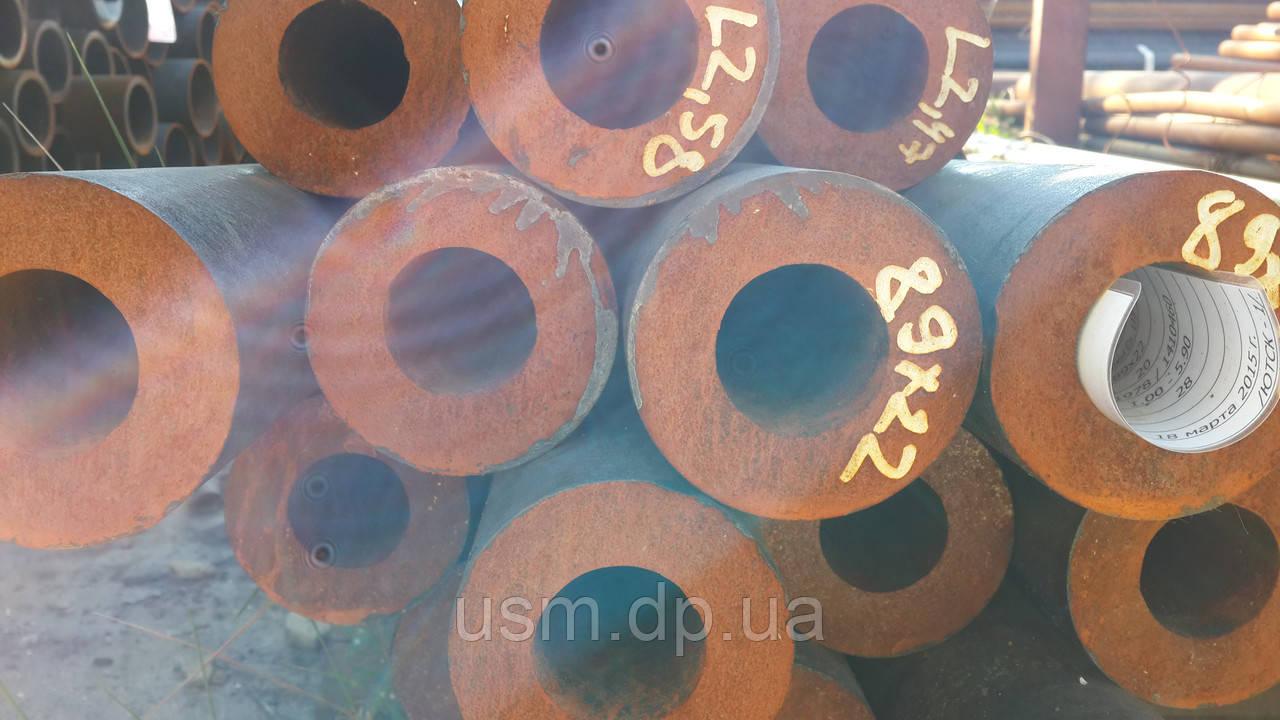 Труба 89х12 мм. горячекатаная ст.10; 20; 35; 45; 17Г1С; 09Г2С. ГОСТ 8732-78