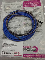 Спираль подающая синяя  D 0.8-1.0 мм 3.4м ABICOR BINZEL (124.0011)