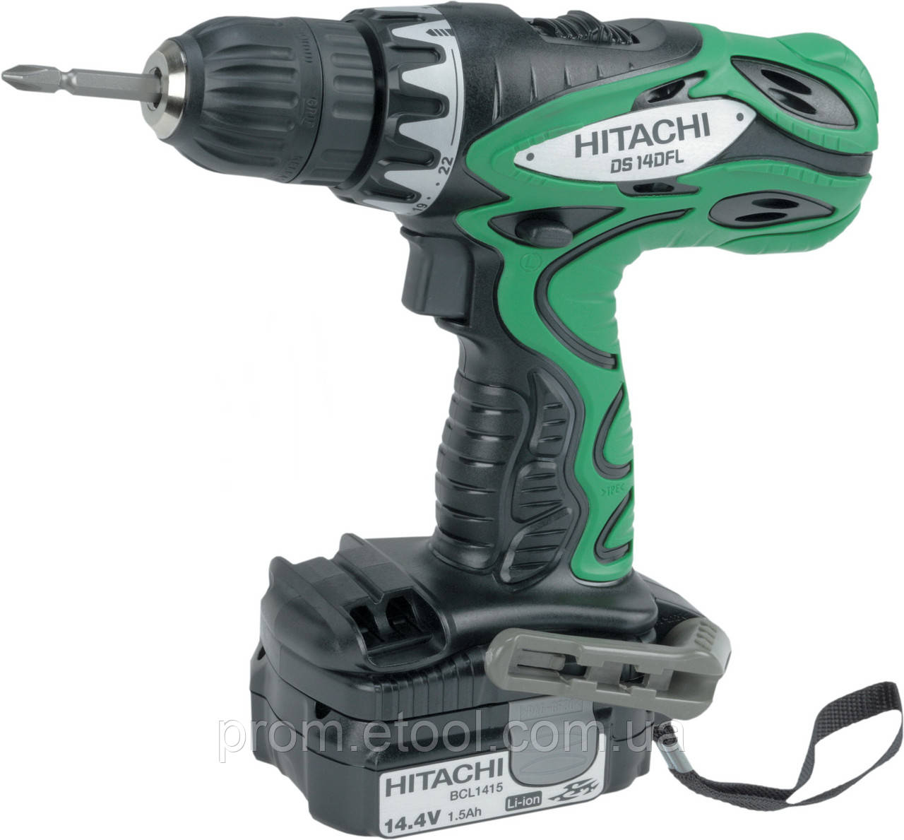 Шуруповерт Hitachi/hikoki DS14DFL