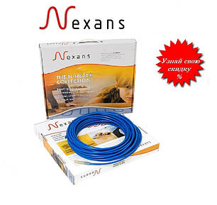 Двухжильный нагревательный кабель NEXANS TXLP/2R – 700 Вт (4,1 м2) Норвегия, фото 2
