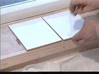 Укладка плитки на откосы, подоконник
