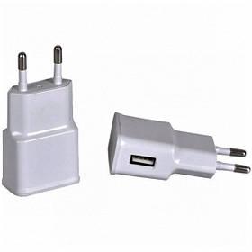 Сетевой USB адаптер 2.0А (прямоугольный)