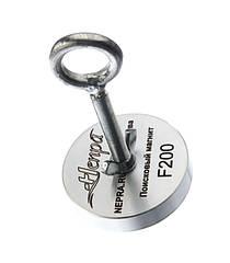 Поисковый неодимовый магнит Непра F200, ОФИЦИАЛЬНАЯ ГАРАНТИЯ 20 ЛЕТ В УКРАИНЕ!