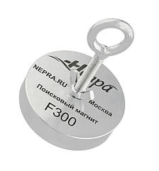 Поисковый неодимовый магнит Непра F300, ТРОС В ПОДАРОК! Доставка Бесплатно!