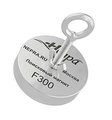 Пошуковий неодимовий магніт Непра F300, ТРОС У ПОДАРУНОК! Доставка Безкоштовно!