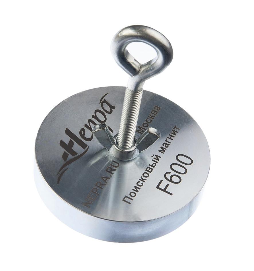 Поисковый неодимовый магнит Непра F600, ЕДИНСТВЕННЫЙ ОРИГИНАЛ В УКРАИНЕ!