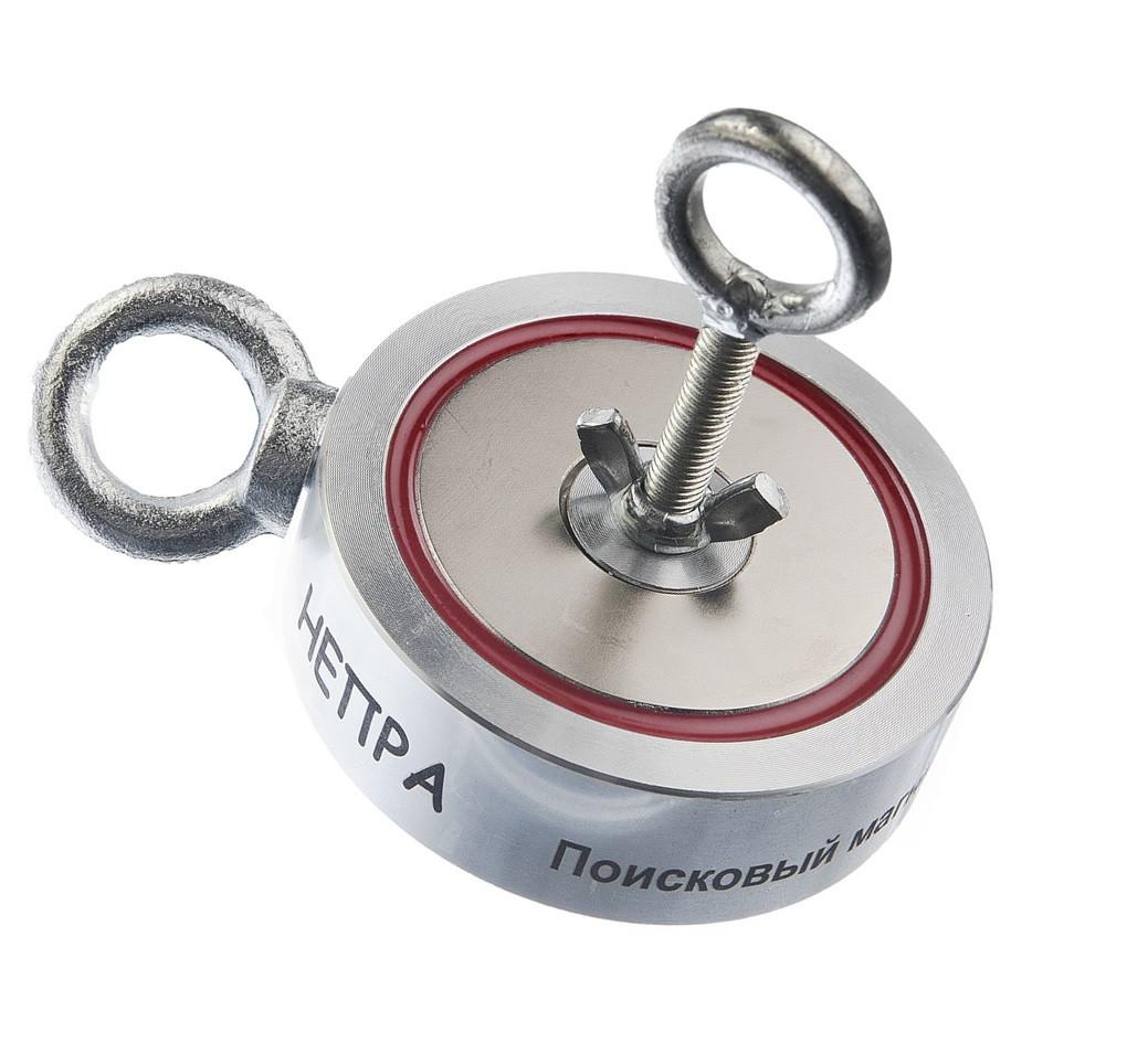 Поисковый неодимовый магнит Непра 2F400 двухсторонний, ОРИГИНАЛ В УКРАИНЕ!