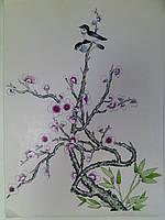 Постер Сакура 30х40см