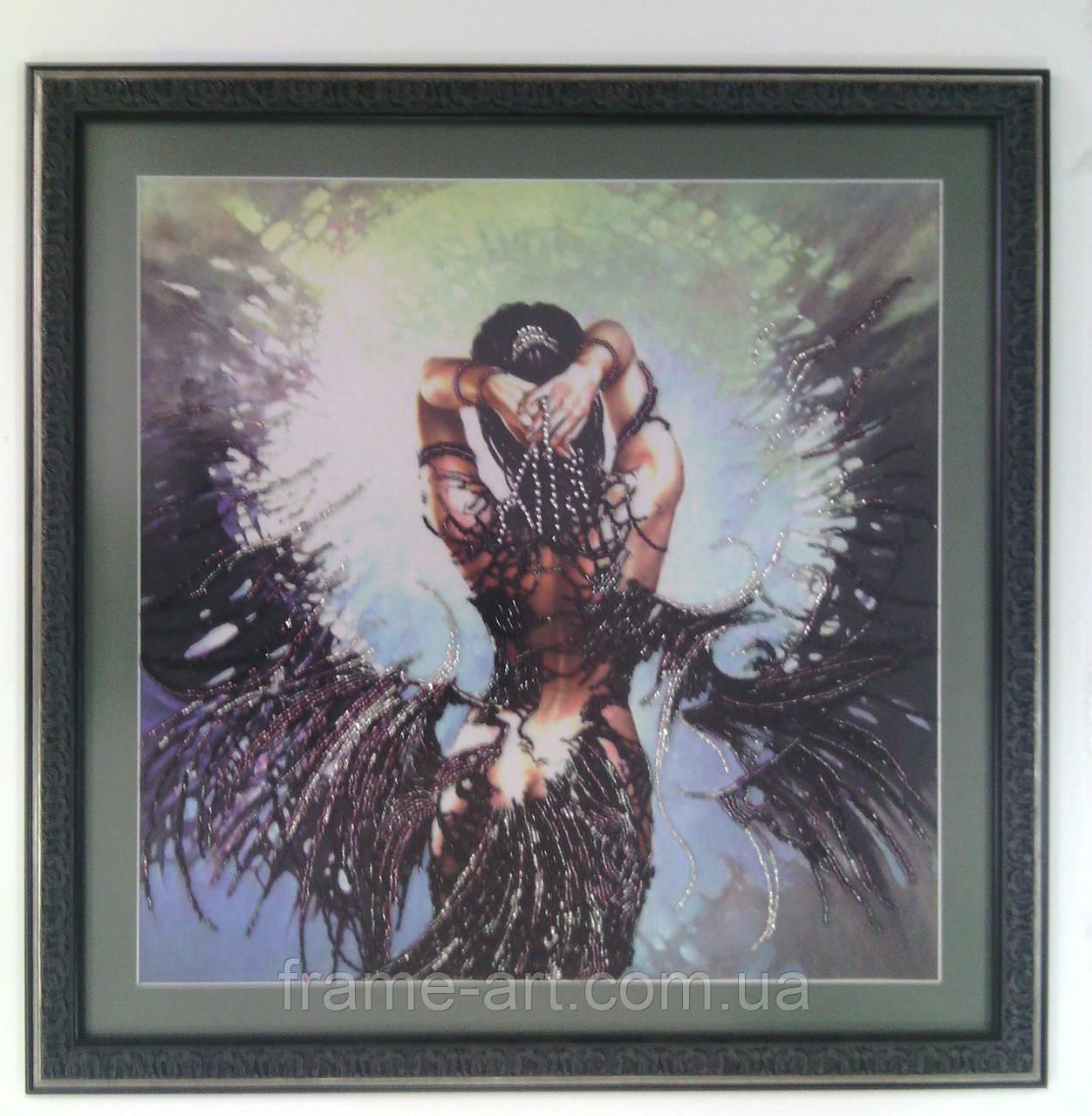 Картина Девушка с крильями 57*57см