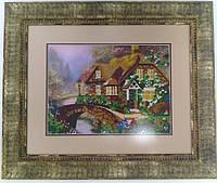 Картина Домик у ручья 54,5*46,5см