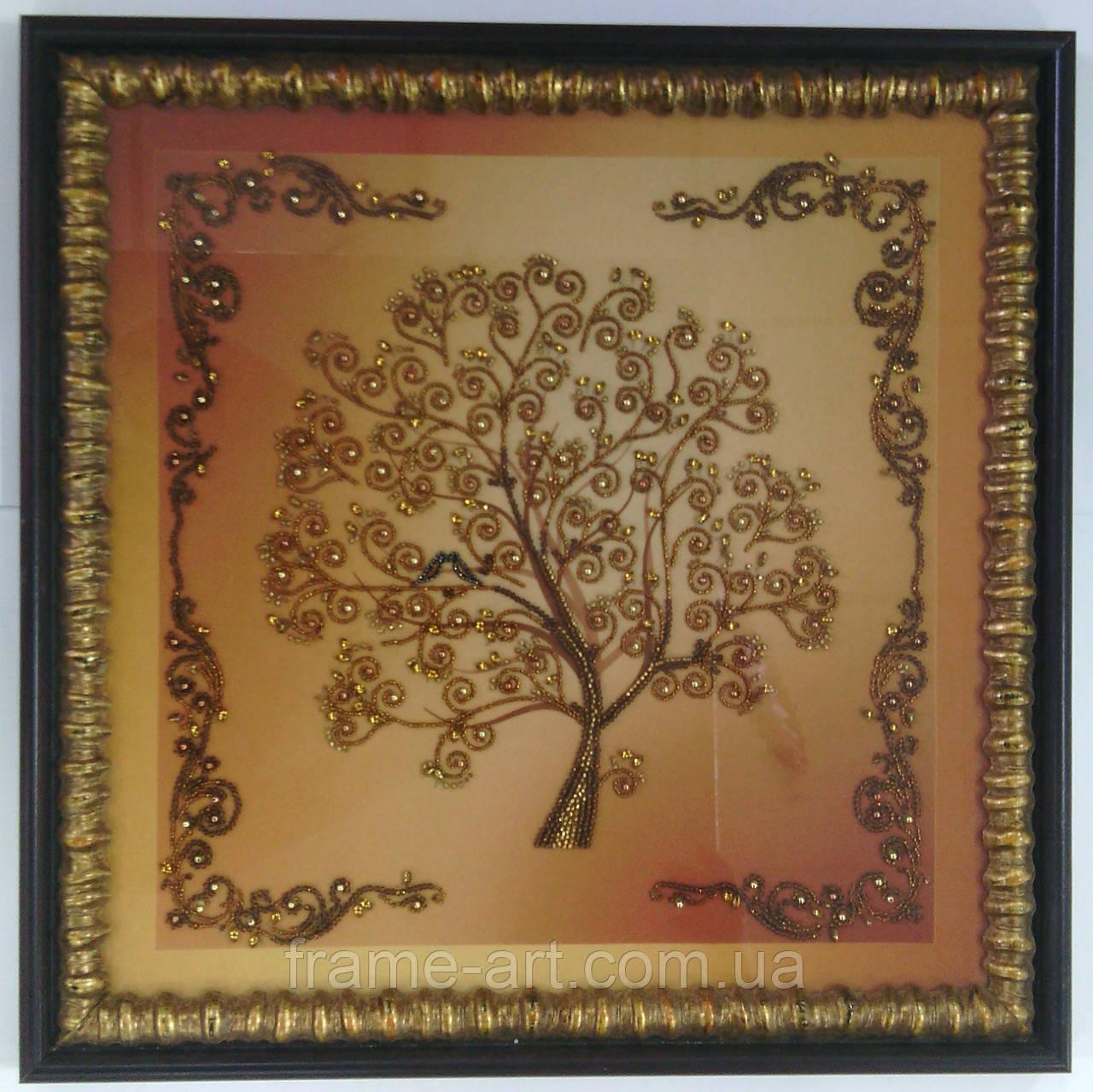 Картина Дерево изобилия 40*40см