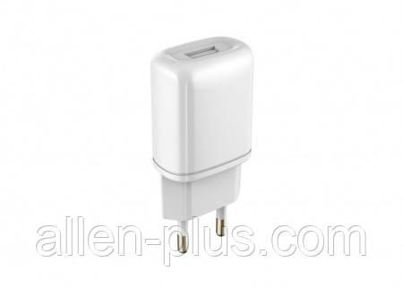 Адаптер живлення (USB зарядка) HAVIT HV-UC8806, usb charger (5V/1A), white