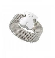 Кольцо женское Tous Mesh Bear, ювелирная сталь