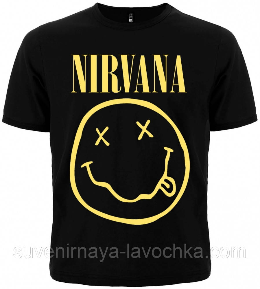 """Футболка Nirvana """"Corporate Rock Whores"""""""