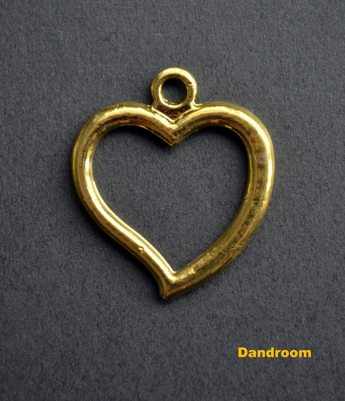 Форма (рамка, подвеска) для эпоксидной смолы, Сердце