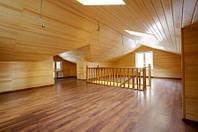 Монтаж вагонки деревянной, потолок