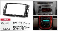 Рамка перехідна Carav 11-064 Hummer/Chevrolet/Buick/Pontiac/Saturn/Saab 2DIN