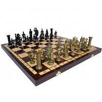 Шахматы из натурального дерева Спартанские 49.5х49.5 см Madon