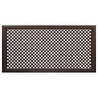 Коламбия (орех) до 1290х690 мм - Экран декоративный на батарею