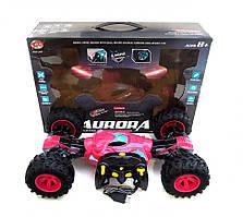 Машина на радиоуправлении Rock Crawler (8850E) 4WD Перевертыш (розового цвета)