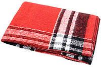 Шерстяной плед детский Vladi Palermo (Влади Палермо) Красный 100х140 Шерсть 20% (3046)