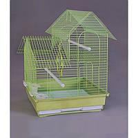 Клетка для птиц Домик.35х28х47 см.Золотая клетка