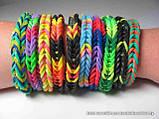 Резиночки для плетения браслетов - 1кг. Цвета в ассортименте., фото 3