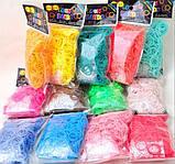 Резиночки для плетения браслетов - 1кг. Цвета в ассортименте., фото 4