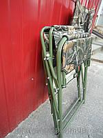 """Туристическое кресло """"Охота"""" камуфляж"""