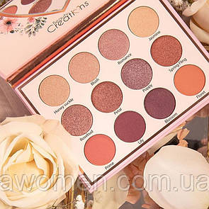 Тіні для очей Beauty Creations Floral Bloom Eye Bloom Palette (12 кольорів)
