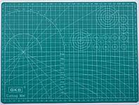 Коврик для раскройки кожи и ткани двухсторонний А4, фото 1