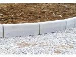 Бордюр тротуарный прессованный 500х400х60 мм, серый
