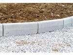 Бордюр тротуарний пресований 500х400х60 мм, сірий