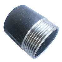 Резьба стальная чёрная приварная ДУ40 L 40mm