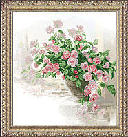 Набор для вышивки крестом Вдыхая розы аромат 1 1КИТ 20415