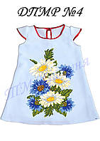Пошитое детское платье для девочки