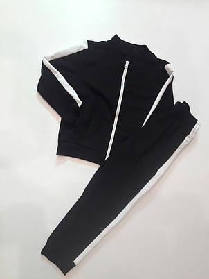 Спортивный костюм подростковый на молнии 116-140, фото 2