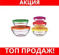 Судок STENSON 0091 5шт/наб стекло!Хит цена