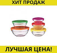Судок STENSON 0091 5шт/наб стекло