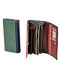 Женский кошелек из натуральной кожи Rainbow ТМ DR. BOND, фото 5