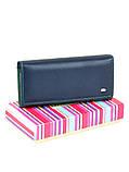 Женский кошелек из натуральной кожи Rainbow ТМ DR. BOND, фото 6
