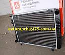 Радиатор Газель 3302, Газ 2217, Соболь 3-х рядных под рамку, алюминиевый , на штырях (Дорожная карта, Харьков), фото 4