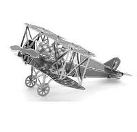 3D пазл металлический «Самолет Fokker D-IIV»